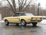 Mustang GT Convertible 1968 wallpapers