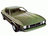 Mustang Coupe 1973 wallpapers