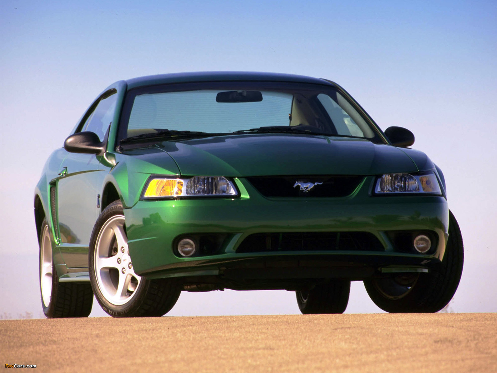 Mustang SVT Cobra Coupe 1999–2002 wallpapers (1600 x 1200)