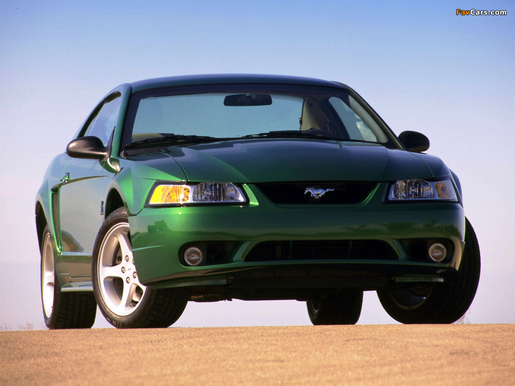 Mustang SVT Cobra Coupe 1999–2002 wallpapers (1024 x 768)