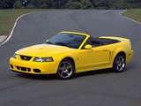 Mustang SVT Cobra Convertible 2003–04 wallpapers