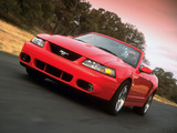 Mustang SVT Cobra Convertible 2004–05 wallpapers