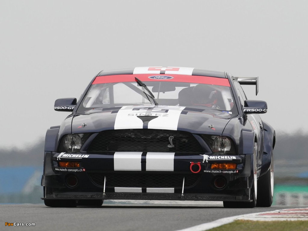Mustang FR500 GT 2006 wallpapers (1024 x 768)