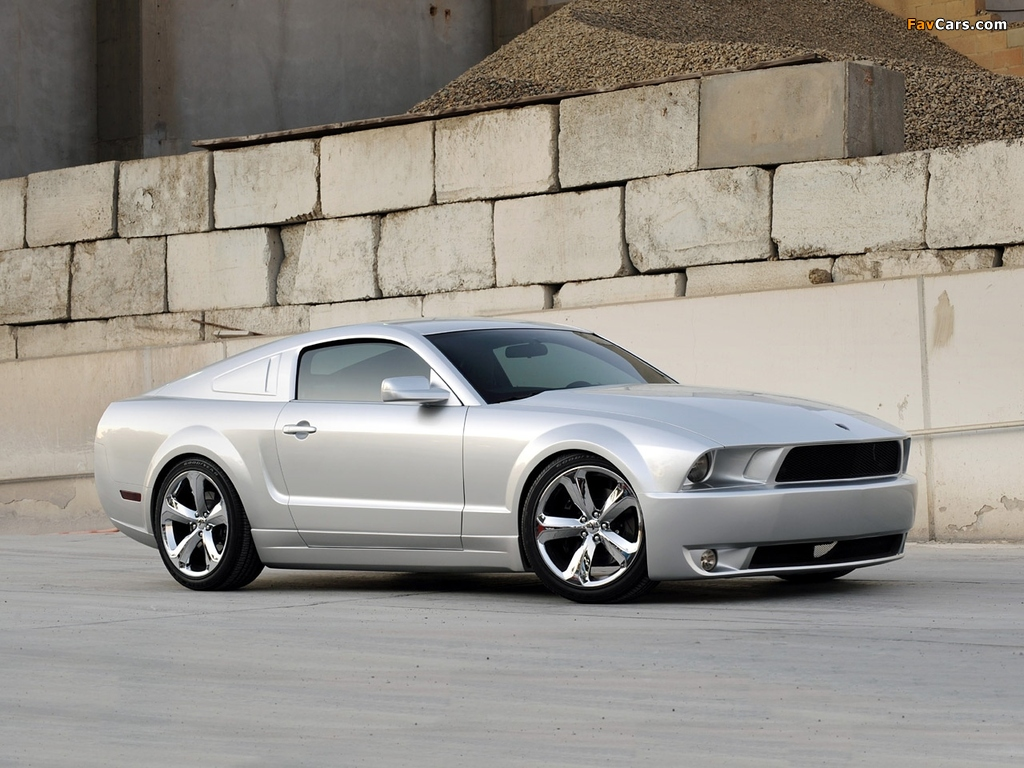 Mustang Iacocca 45th Anniversary Edition 2009 wallpapers (1024 x 768)