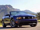Mustang GT Convertible 2009–12 wallpapers