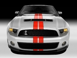 Shelby GT500 SVT Convertible 2010–12 wallpapers