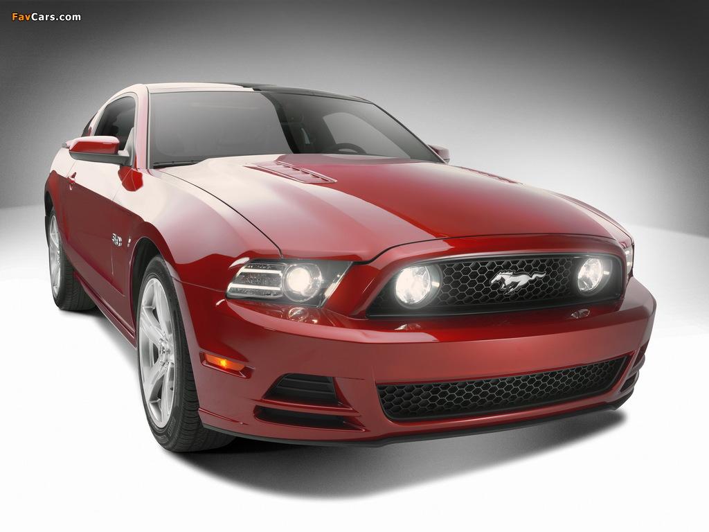 Mustang 5.0 GT 2012 wallpapers (1024 x 768)