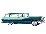 Ford Parklane Station Wagon 1956 pictures