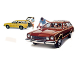 Ford Pinto Wagon & Pinto Squire Wagon 1975 wallpapers