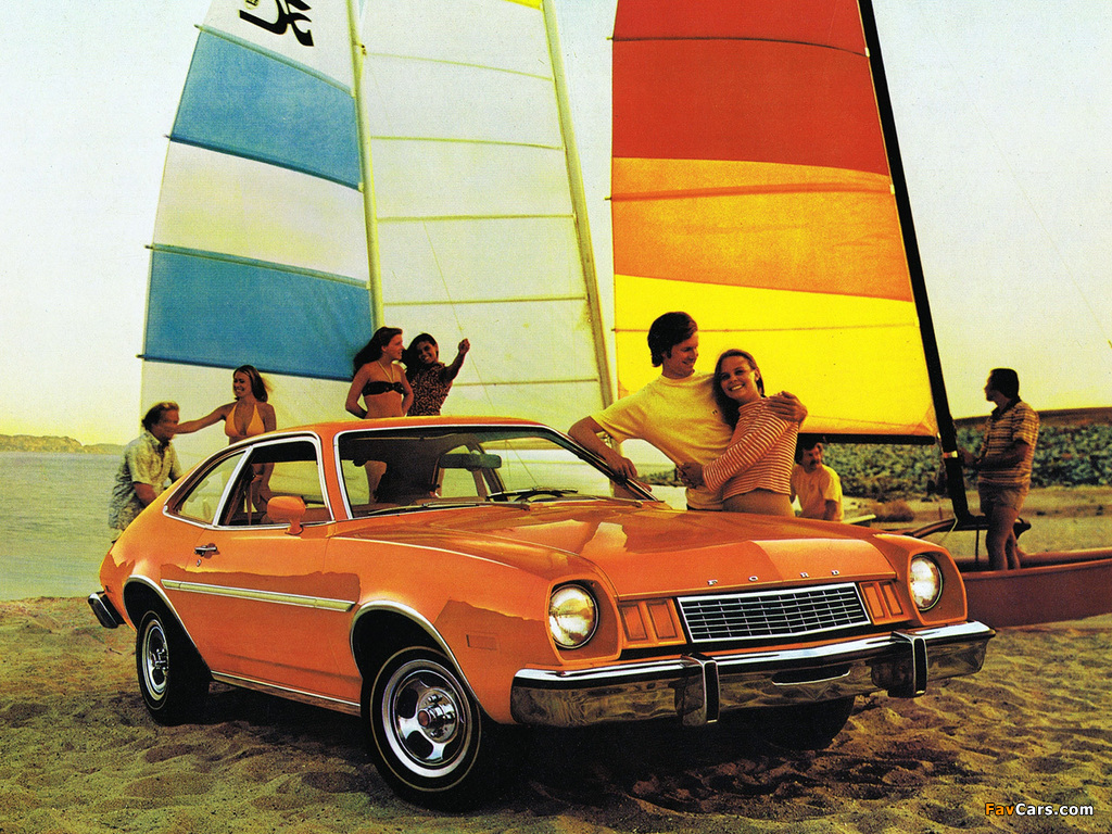 Ford Pinto 1977 wallpapers (1024 x 768)