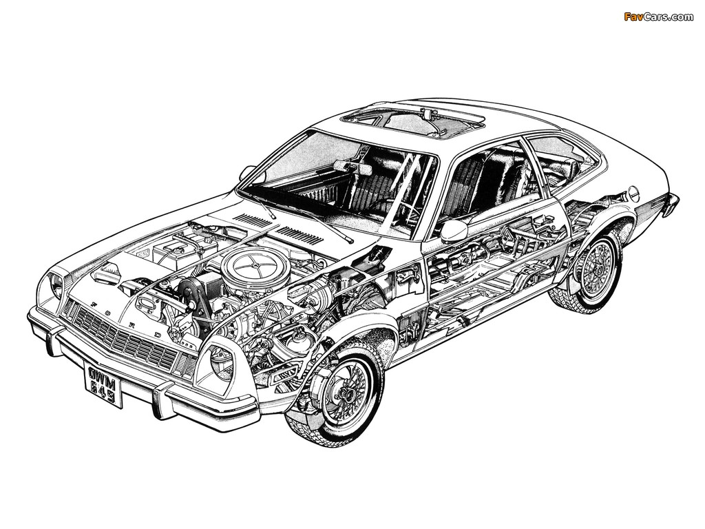Images of Ford Pinto 1976 (1024 x 768)