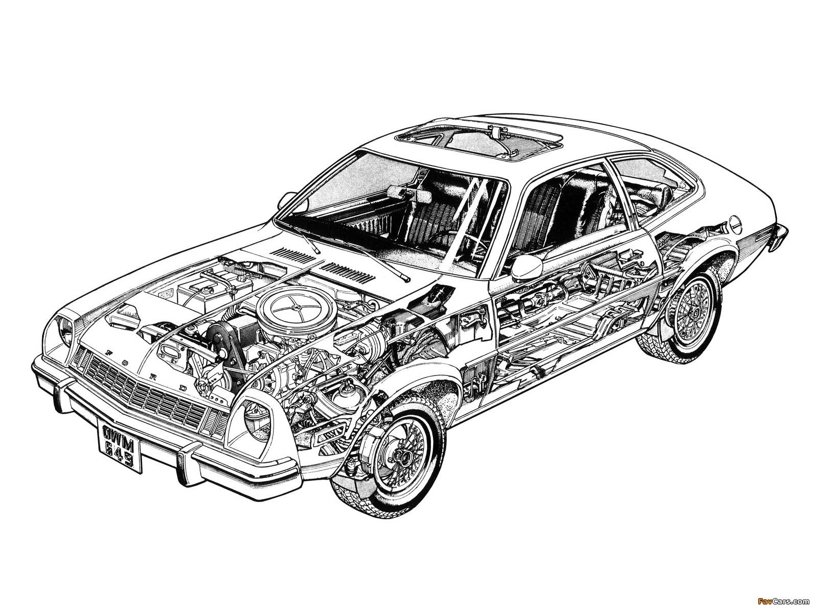 Images of Ford Pinto 1976 (1600 x 1200)