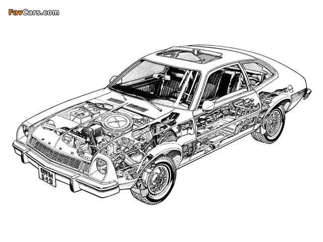 Images of Ford Pinto 1976 (640 x 480)