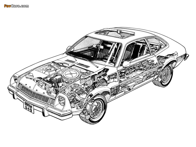 Images of Ford Pinto 1976 (800 x 600)