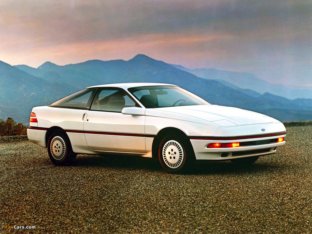 A Ford Car >> Ford Probe LX (GD) 1988–90 images (1024x768)