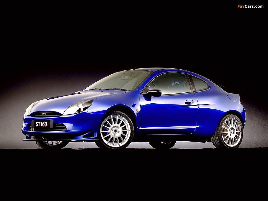 Images of Ford Puma ST160 Concept 1999 (1024 x 768)