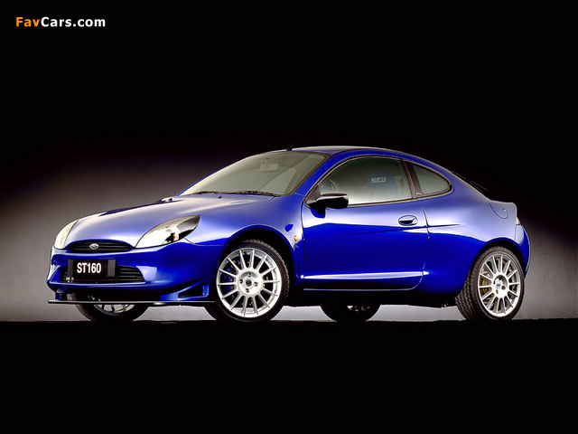 Images of Ford Puma ST160 Concept 1999 (640 x 480)