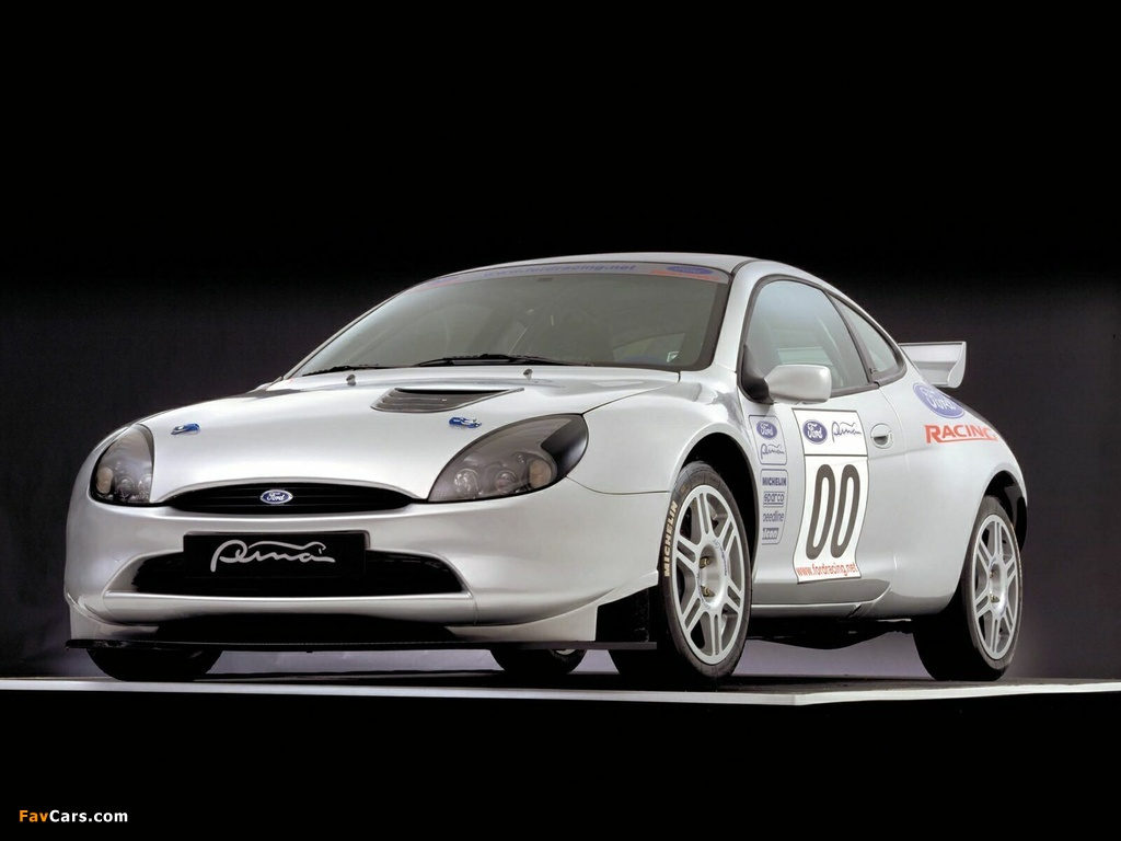 Ford Puma wallpapers (1024 x 768)