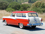 Ford Custom Ranch Wagon 1956 wallpapers