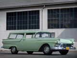 Ford Ranch Wagon 1957 wallpapers