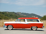 Pictures of Ford Custom Ranch Wagon 1956
