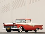 Pictures of Ford Ranchero Deluxe 1957
