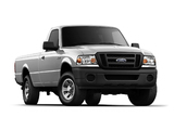 Ford Ranger XL 2WD Regular Cab 6-foot Box 2008–11 wallpapers
