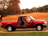 Images of Ford Ranger Super Cab 1998–2000