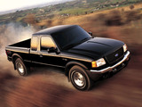 Images of Ford Ranger XLT FX4 Level II Super Cab 2003
