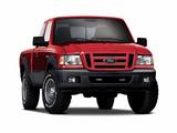 Images of Ford Ranger XLT FX4 Level II Super Cab 2006–08