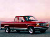Photos of Ford Ranger XLT 1991–92
