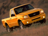 Pictures of Ford Ranger Edge Regular Cab 2001–03