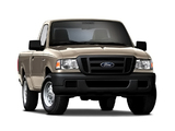 Pictures of Ford Ranger XL 2WD Regular Cab 6-foot Box 2006–08