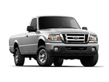 Pictures of Ford Ranger XLT Regular Cab 6-foot Box 2008–11