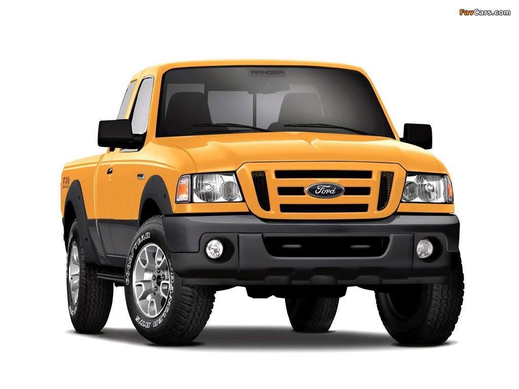 Pictures of Ford Ranger XLT FX4 Super Cab 2008–11 (1024 x 768)