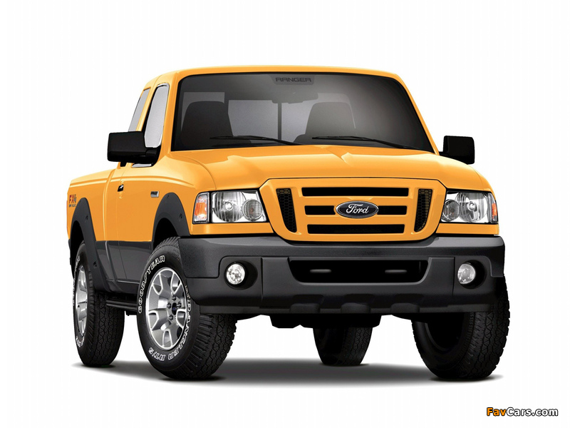 Pictures of Ford Ranger XLT FX4 Super Cab 2008–11 (800 x 600)