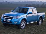 Ford Ranger Extended Cab UK-spec 2009–11 images