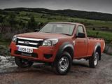Ford Ranger Regular Cab UK-spec 2009–11 images