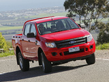 Ford Ranger Double Cab XL AU-spec 2011 photos