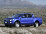 Ford Ranger Double Cab XLT AU-spec 2011 pictures