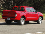 Ford Ranger Double Cab XL AU-spec 2011 pictures