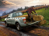 Ford Ranger Regular Cab XL 2011 wallpapers
