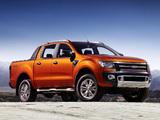 Ford Ranger Wildtrak 2011 wallpapers