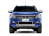 Ford Ranger Double Cab Limited BR-spec 2012 images