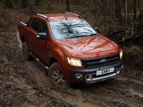 Ford Ranger Wildtrak UK-spec 2012 photos
