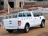 Ford Ranger Single Cab ZA-spec 2012 pictures