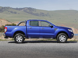 Images of Ford Ranger Double Cab XLT AU-spec 2011