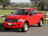 Images of Ford Ranger Double Cab XL AU-spec 2011