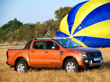 Images of Ford Ranger Wildtrak ZA-spec 2011