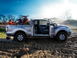 Images of Ford Ranger Super Cab XL UK-spec 2012